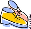 Vector Clipart picture  of a Dress Shoes