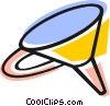 Vector Clipart graphic  of a Funnels