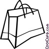 Shopping bag Vector Clipart image
