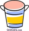 Bucket Vector Clip Art picture