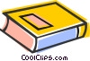 Vector Clipart image  of a Text book