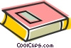 Text book Vector Clipart picture