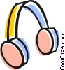 Headphones Vector Clipart picture