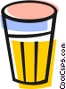 Vector Clip Art graphic  of a Trash can