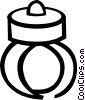 Vector Clipart graphic  of a ring