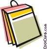 Vector Clip Art graphic  of a File folder