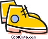 Hiking Boots Vector Clipart graphic