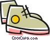 Vector Clip Art picture  of a Hiking boots
