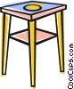 Vector Clip Art graphic  of a Tables