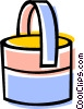 Vector Clipart graphic  of a Cleaning pail