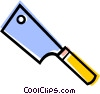 Knives Vector Clipart illustration