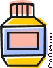 Vector Clipart illustration  of a Prescription drugs