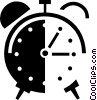 alarm clock Vector Clipart graphic