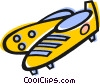 Vector Clip Art image  of a Cleats