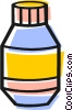 Vector Clipart graphic  of a Prescription drugs