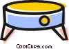 Vector Clip Art graphic  of a Footstools