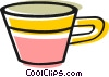 Tea cup Vector Clipart illustration