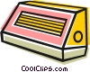 electric heaters Vector Clip Art picture