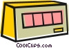 Vector Clipart graphic  of a Test Equipment
