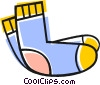 Socks Vector Clip Art graphic