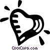 Vector Clip Art picture  of a heart