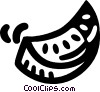 watermelon Vector Clip Art graphic
