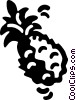 pineapple Vector Clip Art graphic