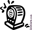 radio Vector Clipart graphic