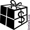 Vector Clipart image  of a financial concept