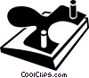 Vector Clipart image  of a hole puncher