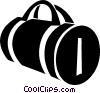 suitcase Vector Clip Art graphic