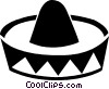 Vector Clipart graphic  of a sombrero
