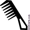 comb Vector Clipart illustration