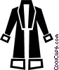 bathrobe Vector Clipart illustration