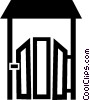 fence Vector Clip Art graphic