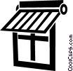 Vector Clipart image  of a window