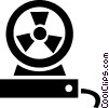Vector Clipart graphic  of a Fan