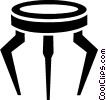 end table Vector Clipart picture