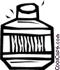 Vector Clipart image  of a glue