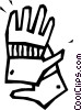 work gloves Vector Clipart graphic