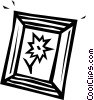 Vector Clipart image  of a picture frame