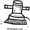 electric sander Vector Clipart illustration