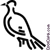 Pigeon Vector Clipart illustration