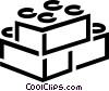 Vector Clipart illustration  of a Building blocks