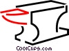 Vector Clipart picture  of an Anvil