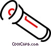 Flashlight Vector Clipart graphic