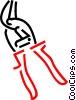 pliers Vector Clip Art image
