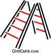Vector Clip Art graphic  of a Ladder
