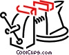 Vector Clipart image  of a Vice