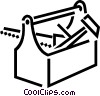 Vector Clipart picture  of a Toolbox